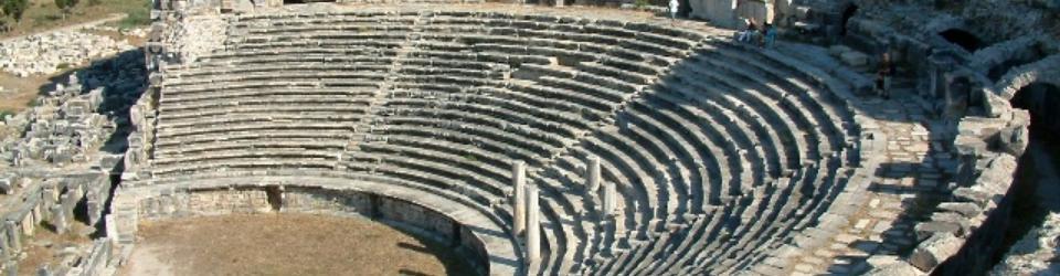 Grecki teatr w Milecie z II w.